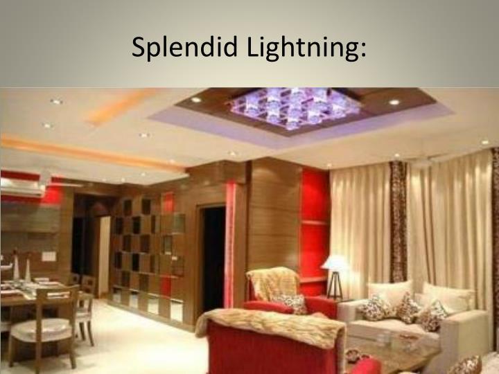 Splendid Lightning: