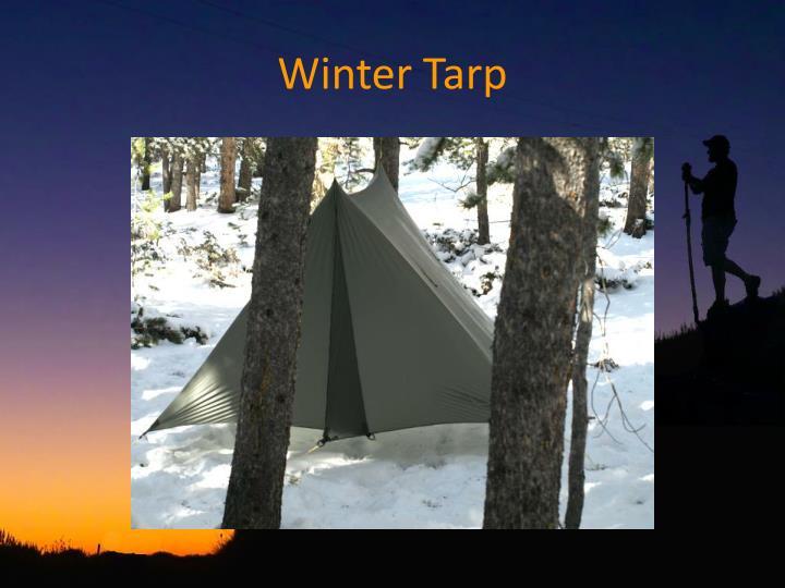 Winter Tarp
