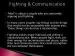 fighting communication