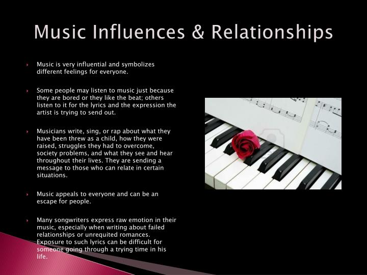 Music Influences & Relationships