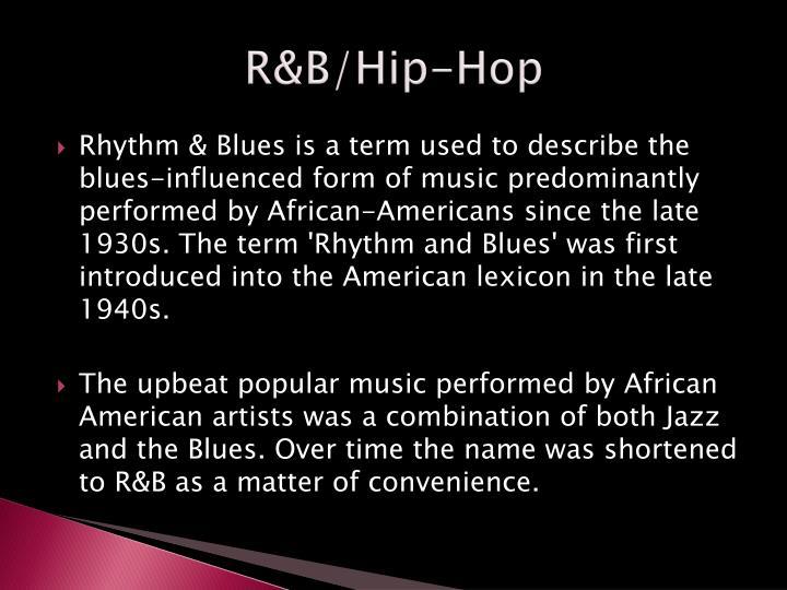 R&B/Hip-Hop