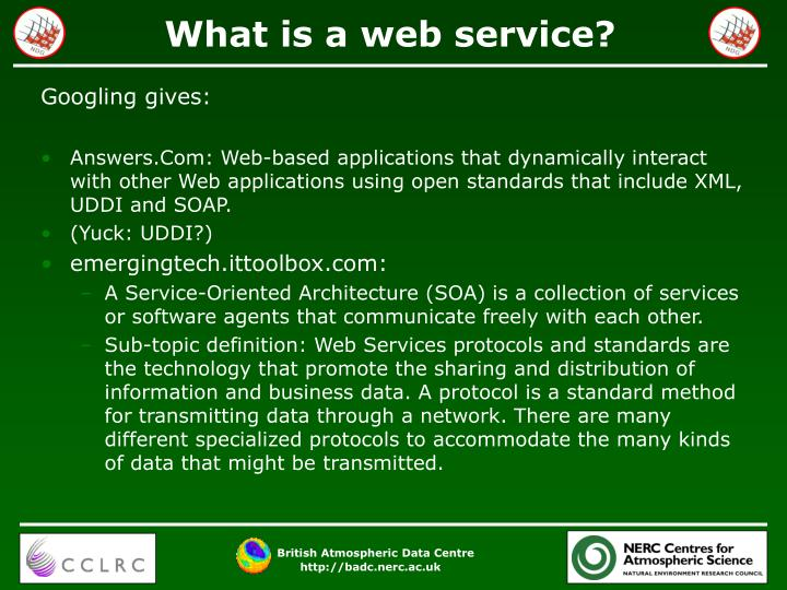 What is a web service1