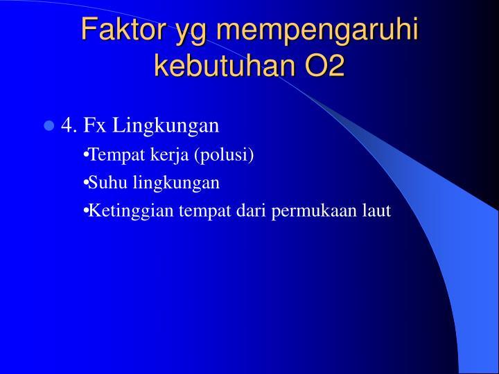 FAKTOR-FAKTOR YANG MEMPENGARUHI OKSIGENESI