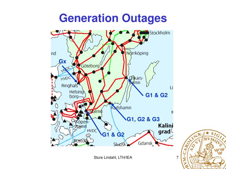 Generation Outages
