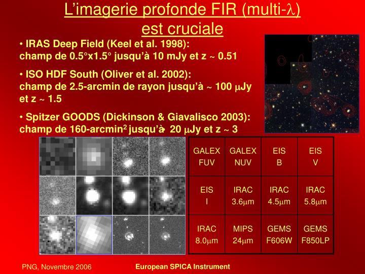 L'imagerie profonde FIR (multi-