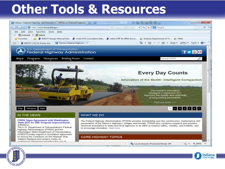 Other Tools & Resources