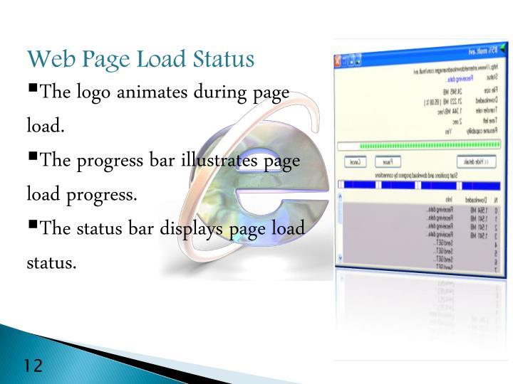 Web Page Load Status