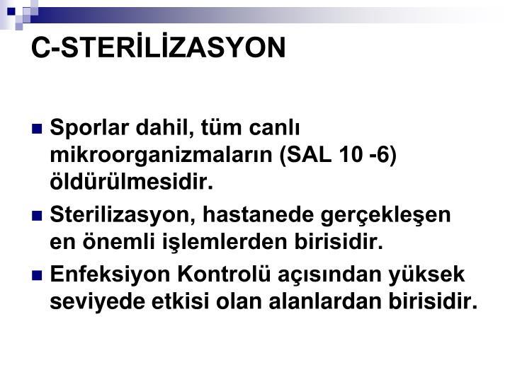 C-STERLZASYON