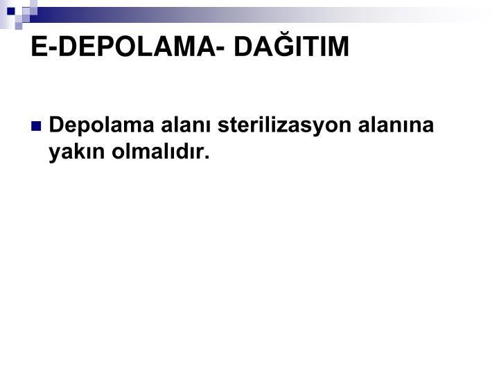 E-DEPOLAMA- DAITIM