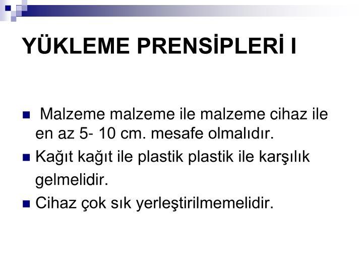 YKLEME PRENSPLER I