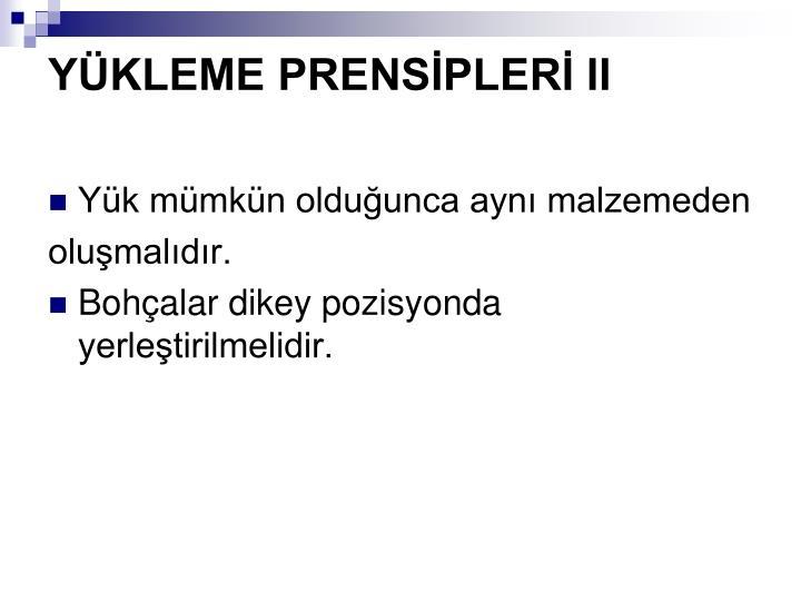 YKLEME PRENSPLER II