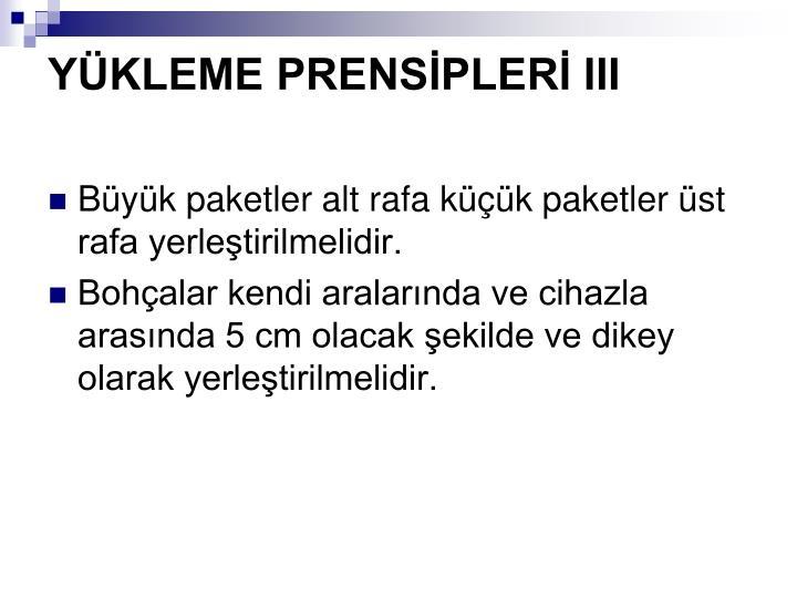 YKLEME PRENSPLER III