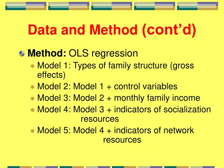 Data and Method