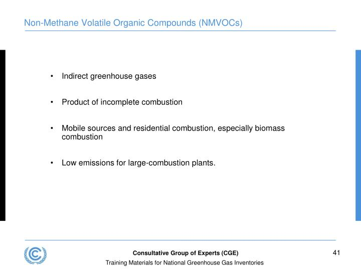 Non-Methane Volatile Organic Compounds (NMVOCs)