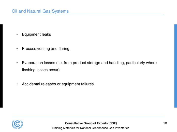 Oil and Natural Gas Systems