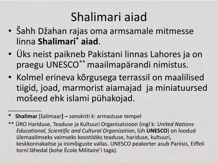 Shalimari