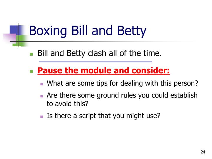 Boxing Bill and Betty