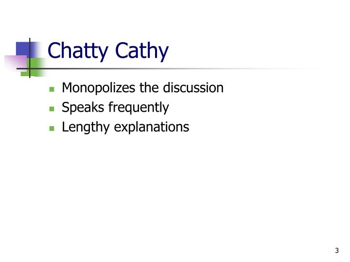 Chatty cathy