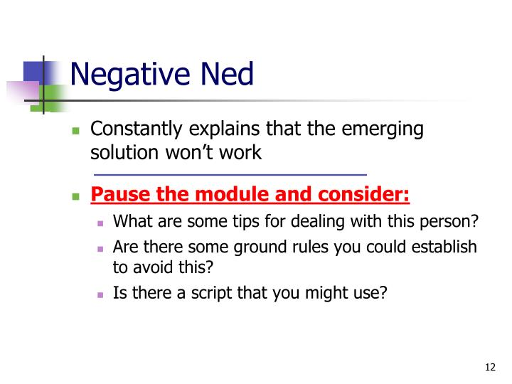 Negative Ned