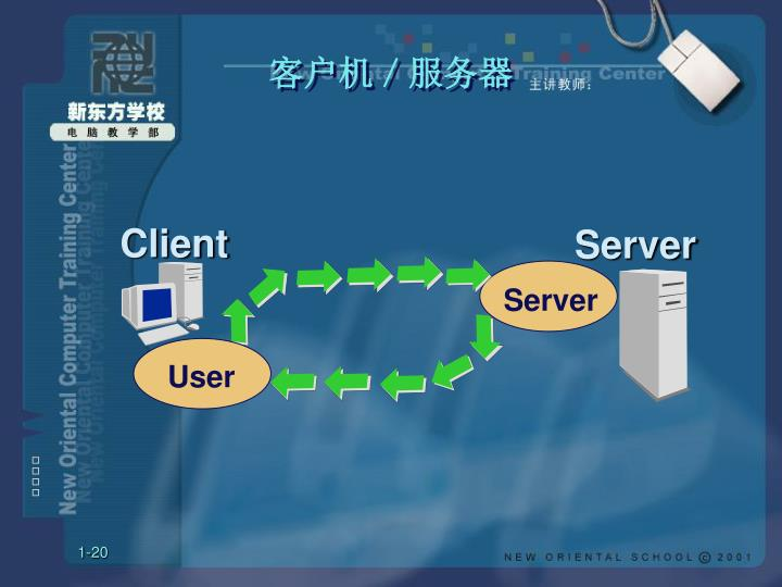 客户机/服务器