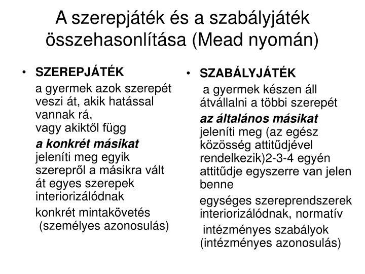 SZEREPJÁTÉK