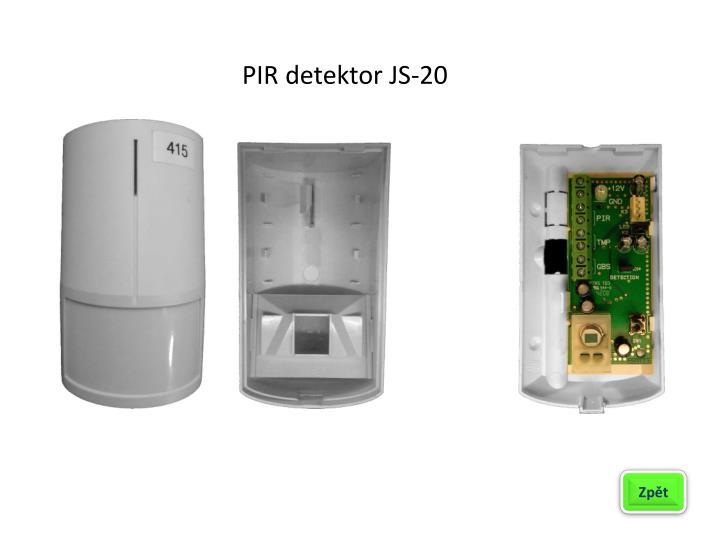 PIR detektor JS-20
