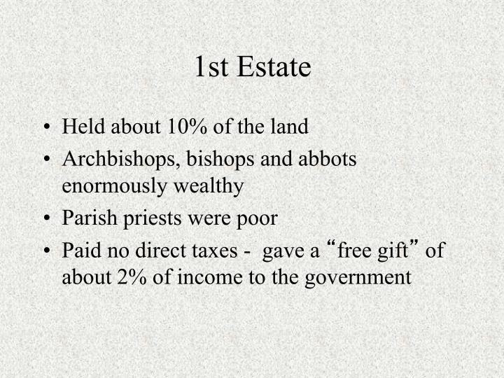 1st Estate