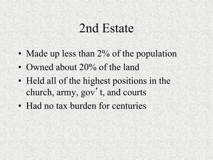 2nd Estate