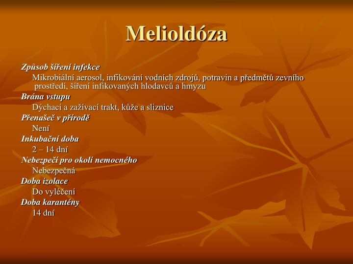 Melioldóza