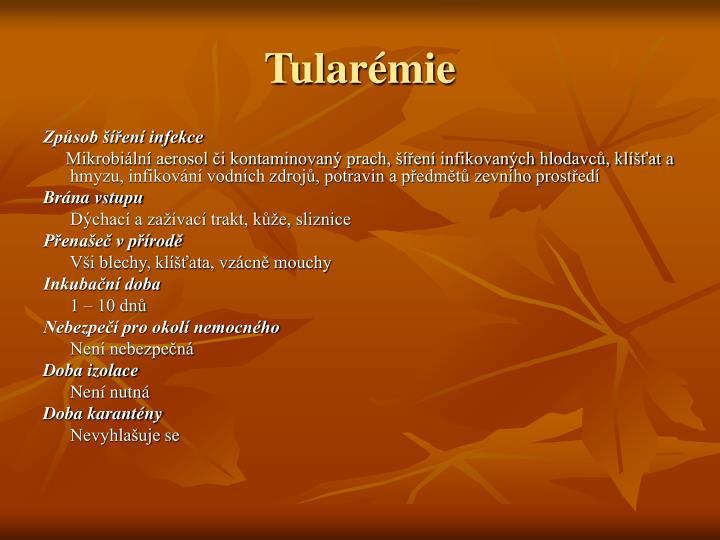 Tularémie