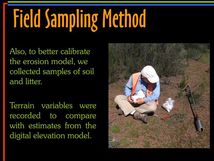 Field Sampling Method
