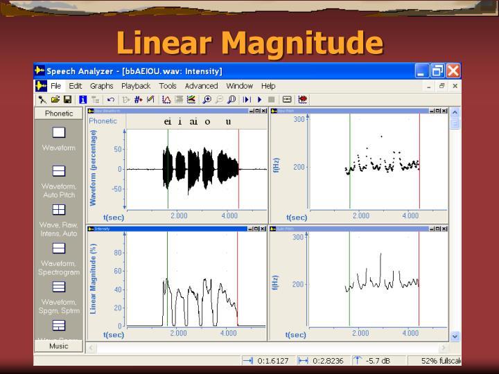 Linear Magnitude