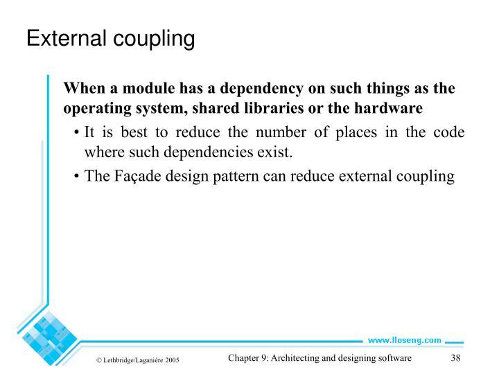 External coupling