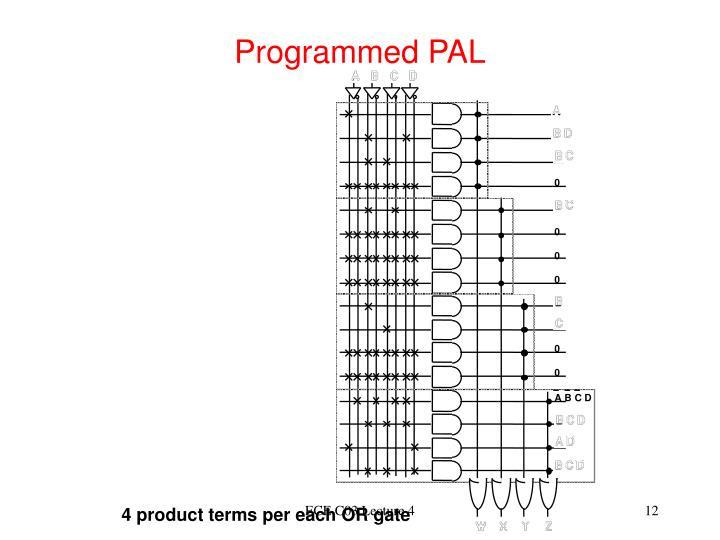 Programmed PAL