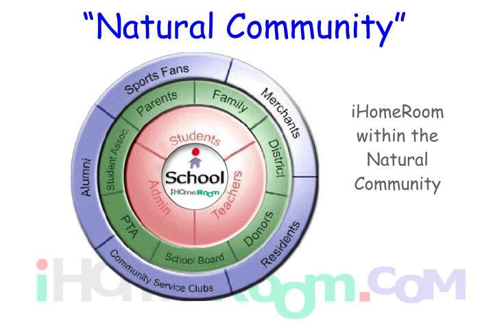 """Natural Community"""