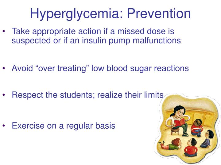 Hyperglycemia: Prevention