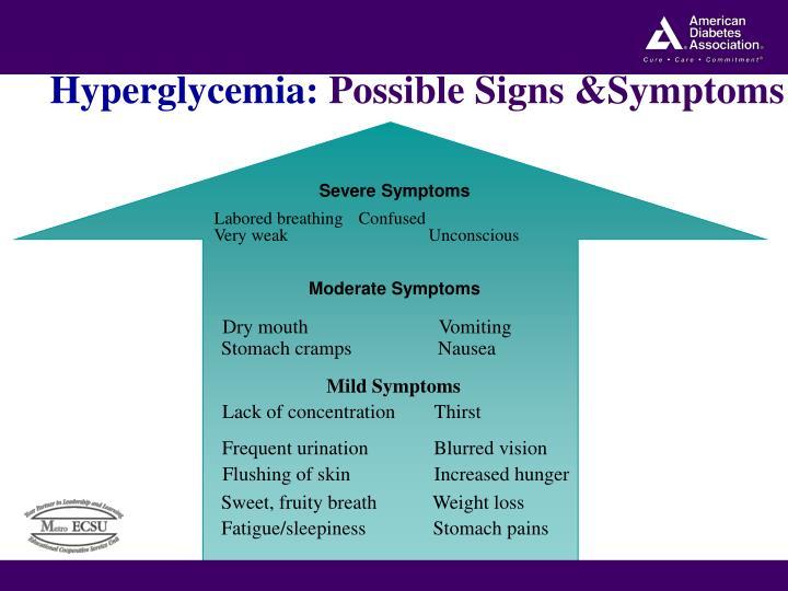 Hyperglycemia: