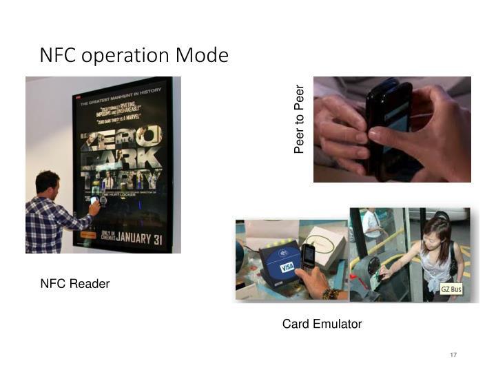 NFC operation Mode