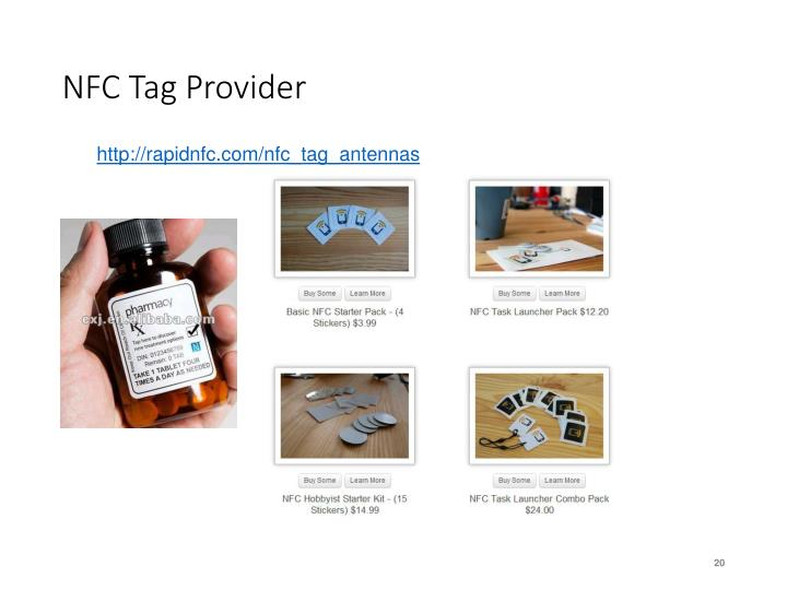 NFC Tag Provider