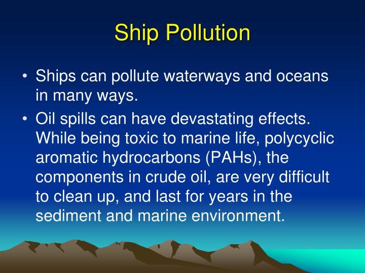 Marine Pollution Presentation
