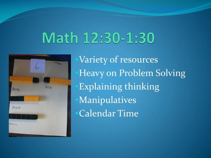 Math 12:30-1:30