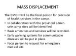 mass displacement