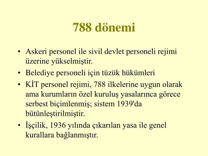 788 dönemi