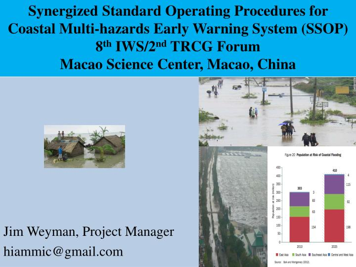 Synergized Standard Operating Procedures for Coastal Multi-hazards Early Warning System (SSOP)