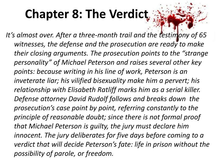 Chapter 8: The Verdict