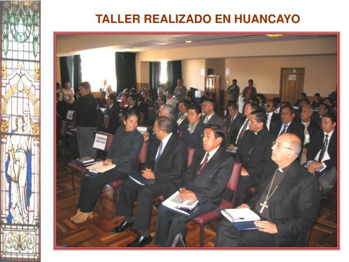 TALLER REALIZADO EN HUANCAYO