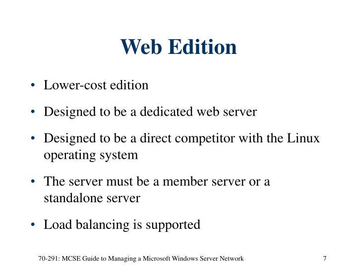 Web Edition