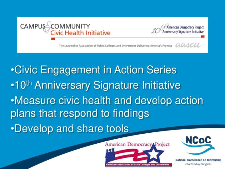 Civic Engagement in Action Series