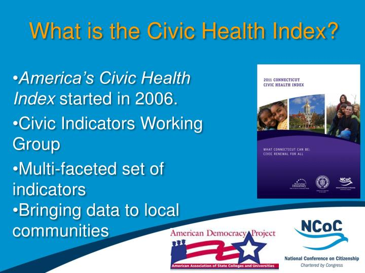 What is the Civic Health Index?