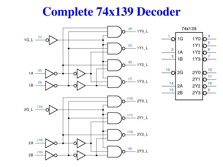 Complete 74x139 Decoder